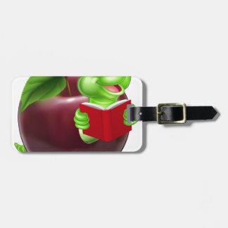 Cute Cartoon Caterpillar Worm Travel Bag Tag