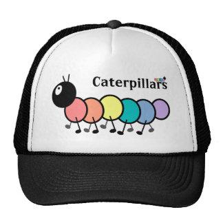 Cute Cartoon Caterpillars Trucker Hats