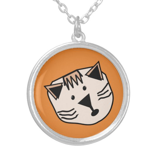 Cute cartoon cats on coloured B/G pendant