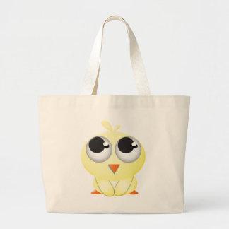 Cute Cartoon Chick Jumbo Tote Bag