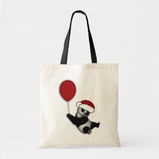 Cute cartoon Christmas bear gifts Canvas Bag