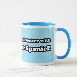 Cute Cartoon Cocker Spaniel Mug