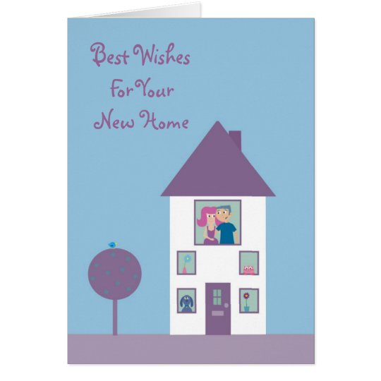 Cute Cartoon Couple & Pets New Home Customisable