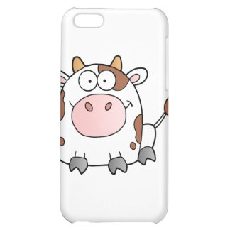 Cute Cartoon Cow Cover For iPhone 5C