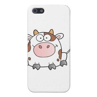 Cute Cartoon Cow iPhone 5 Cases