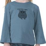 Cute Cartoon Cream Hamster Mum Girls Shirt