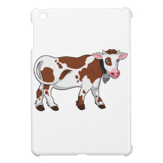 Cute Cartoon Dairy Cow iPad Mini Cases