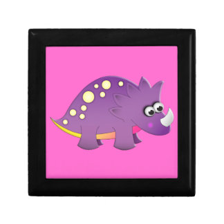 Cute Cartoon Dinosaur Small Square Gift Box