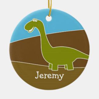 Cute Cartoon Dinosaur Ornament