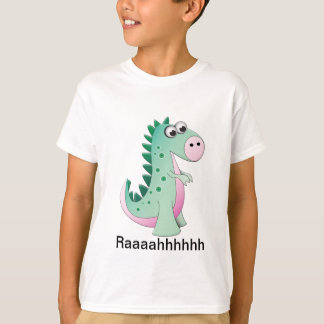 Cute Cartoon Dinosaur T-Shirt