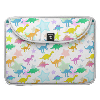 Cute Cartoon Dinosaurs Pattern Macbook Flap Sleeve Sleeves For MacBooks