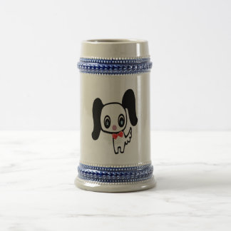 Cute Cartoon Dog Beer Stein