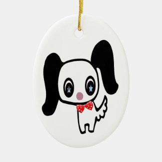 Cute Cartoon Dog Christmas Ornament