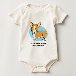 Cute Cartoon Dog Corgi T-Shirt