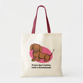 Cute Cartoon Dog Dachshund Bag