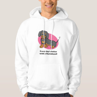 Cute Cartoon Dog Dachshund Hoodie
