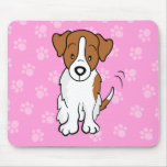 Cute Cartoon Dog Jack Russell Mousepad