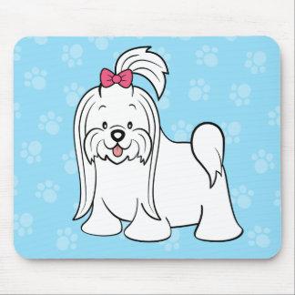 Cute Cartoon Dog Maltese Mousepad