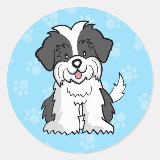 Cute Cartoon Dog Shih Tzu Sticker