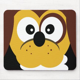 Cute Cartoon Dog With Bone Kids  Mouspad Mouse Pad