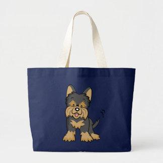 Cute Cartoon Dog Yorkie Bag