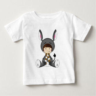 Cute Cartoon Donkey Girl Baby T-Shirt