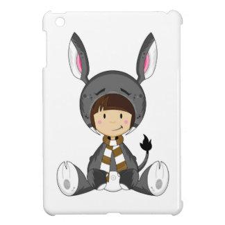 Cute Cartoon Donkey Girl Case For The iPad Mini