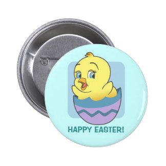 Cute Cartoon Easter Chick 6 Cm Round Badge