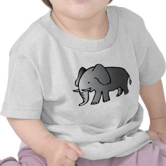 Cute Cartoon Elephant Kids' T-Shirt