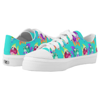 Cute cartoon fish sneakers