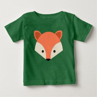 Cute Cartoon Fox Face Baby T-Shirt