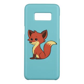 Cute Cartoon Fox Light Blue Samsung Galaxy S8 Case