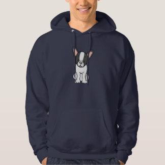 Cute Cartoon French Bulldog Hoodie