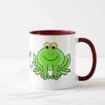 Cute Cartoon Frog Hoppy Birthday Funny Greeting