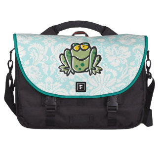 Cute Cartoon Frog Bag For Laptop