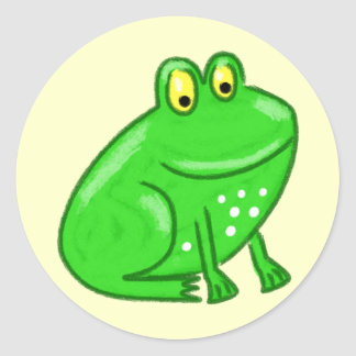 Cute Cartoon Frog Stickers