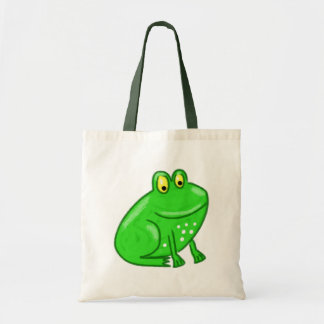 Cute Cartoon Frog Tote Bag
