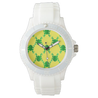 Cute Cartoon Frogs Watch