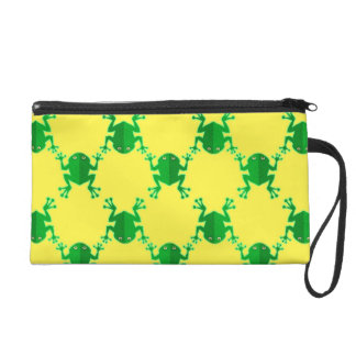Cute Cartoon Frogs Wristlets