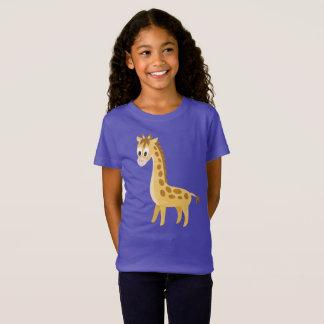 Cute Cartoon Giraffe African Safari T-Shirt