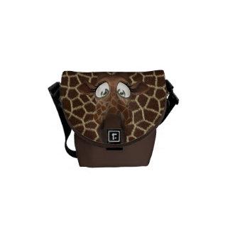Cute Cartoon Giraffe & Animal Print Courier Bags