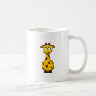 Cute Cartoon Giraffe Clipart Coffee Mug