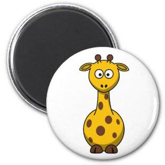 Cute Cartoon Giraffe Clipart Magnet