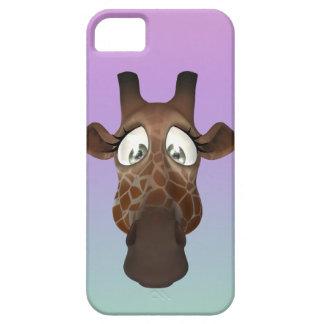 Cute Cartoon Giraffe Face iPhone 5 Covers