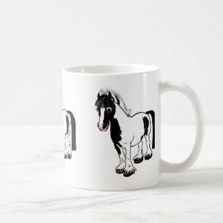 Cute cartoon girl riding horse pony cartoon gifts coffee mug
