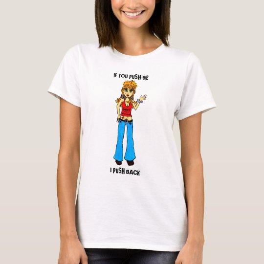 Cute Cartoon Girl Tshirt