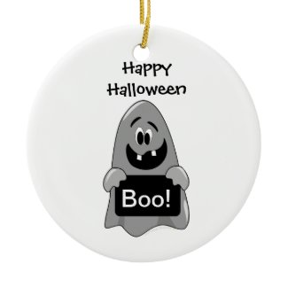 Cute Cartoon Goofy Ghost Halloween Design