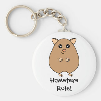 Cute Cartoon Hamster Key Chains