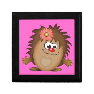 Cute Cartoon Hedgehog Gift Box