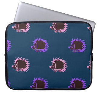 Cute Cartoon Hedgehogs Laptop Sleeve